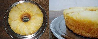 Recetas de Cocina: TORTA INVERTIDA DE PERAS