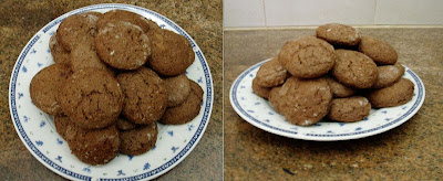 Recetas de Cocina: GALLETITAS DE CHOCOLATE EXPRESS