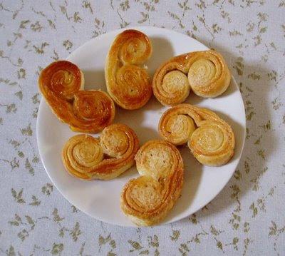 Recetas de Cocina: PALMERITAS EXPRESS