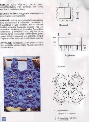 Bonitas Bolsas Tejidas A Crochet Con Patrones