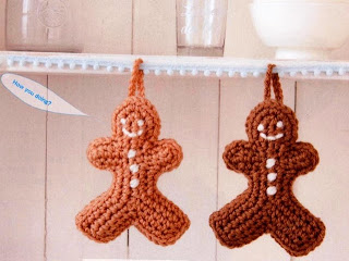 Adornos navide os a crochet f ciles lodijoella - Adornos navidenos crochet ...