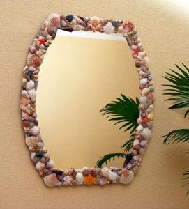 Espejos Decorados Con Conchas De Mar Lodijoella