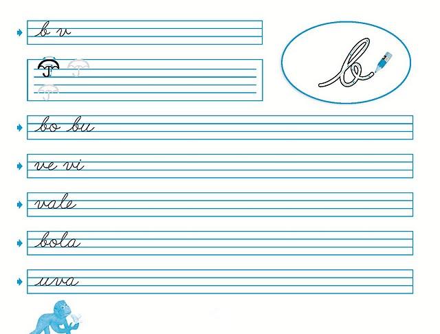 Hojas de caligrafía palmer para imprimir - Imagui