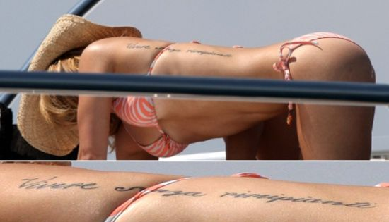 rihanna tattoos meanings. Earlier, Rihanna was in the