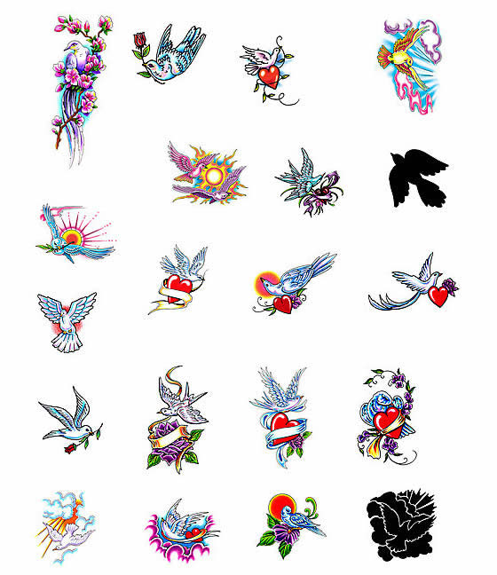 Choose your own dove tattoo design by the world's top tattoo artists at