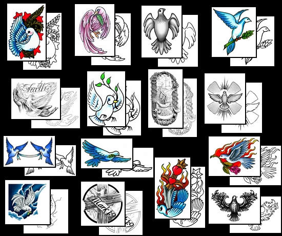 tattoo artists at tattoo Johnny and buy the perfect dove tattoo design