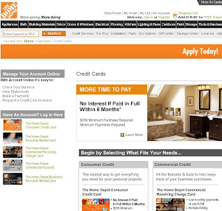 Home Depot Account : Pay Online is now a click Away!