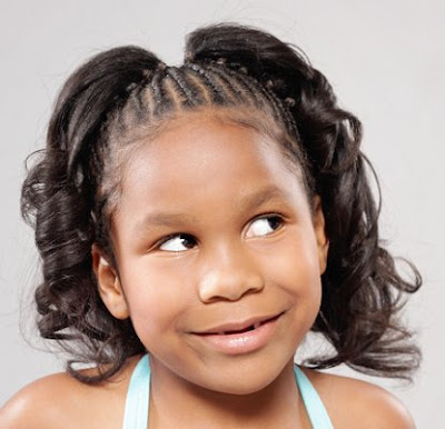 Curly Short Hair: One of the best hairstyle for kids is any short hairstyle.