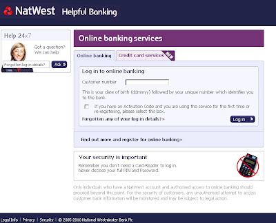 Natwest Digital Banking Website Review (Nwolb.com)