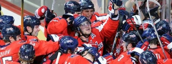 Washington Capitals Hockey Photo Album