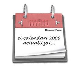 El Calendari del 2009
