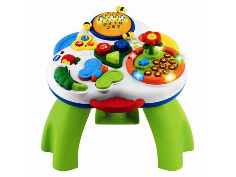 Mundo dos brinquedos mesa das palavras chicco for Mesa didactica chicco