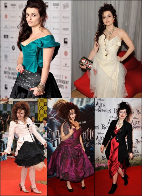 Treehouse Trunkshow Style Icon Helena Bonham Carter