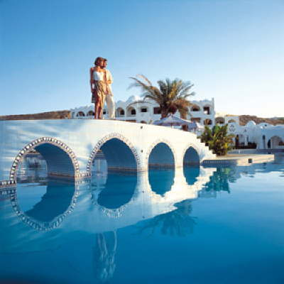 Sonesta Beach Resort & Casino Sharm El Sheikh, stretching across the sands