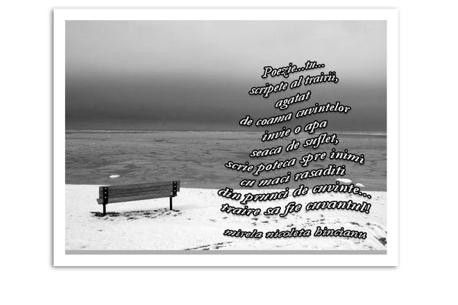 Poezie, întâiul cuvânt...
