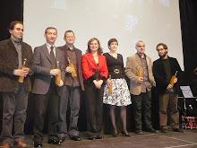 Lliurament de premis en Alzira 2008