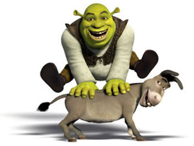 Shrek - A gentle monster