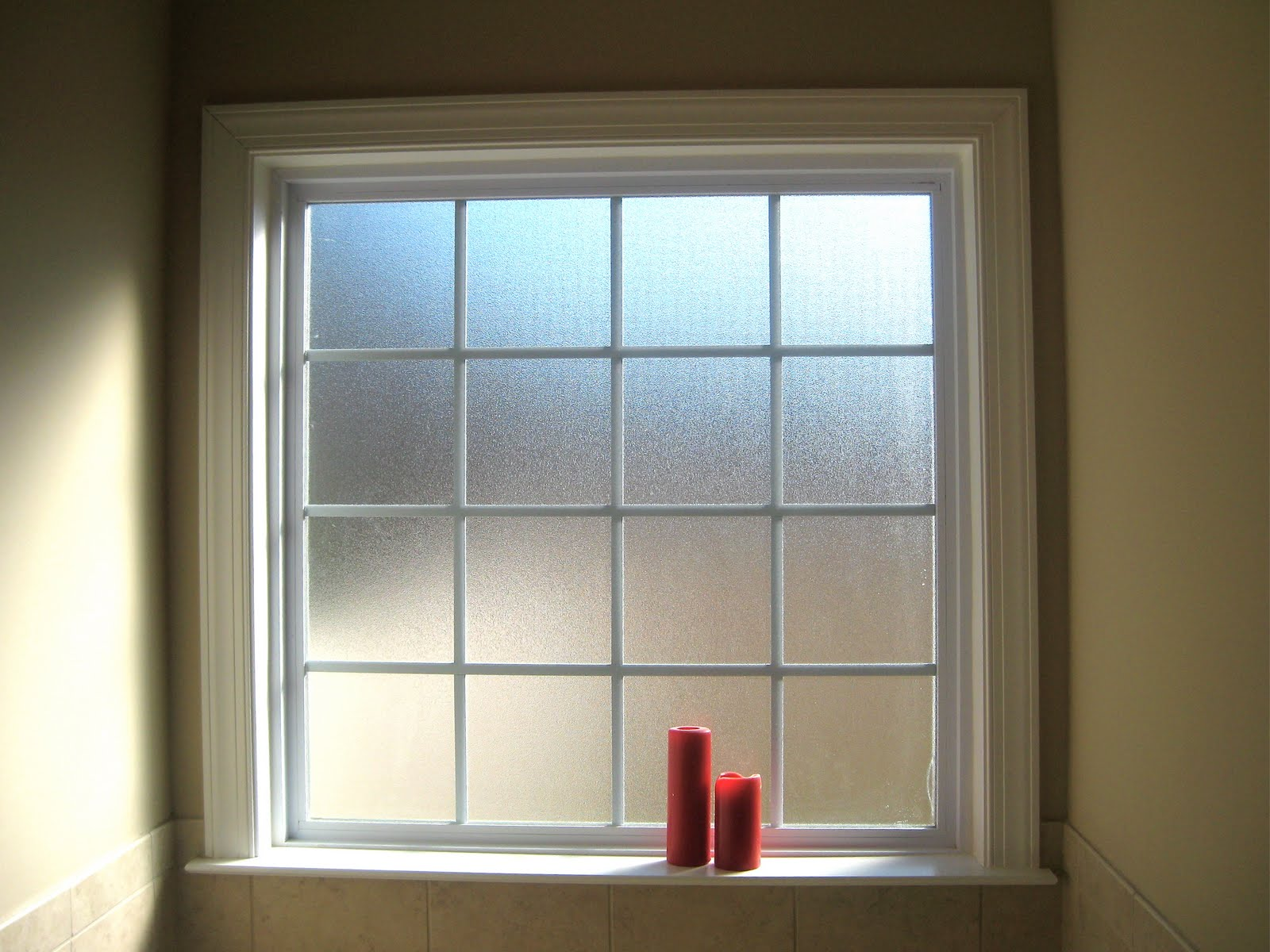 bathroom window treatments casual cottage