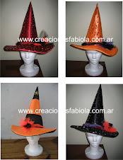 gorros halloween