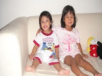 Arissa (4 years old) and Aryana (2 years old)