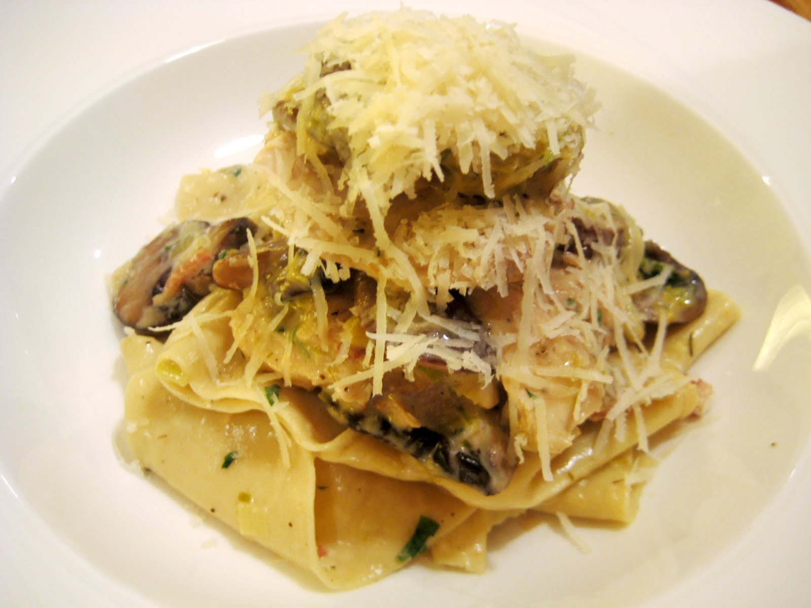 chicken with pappardelle braised chicken pappardelle creamy braised ...