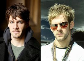 Justin Bartha and Dominic Monaghan