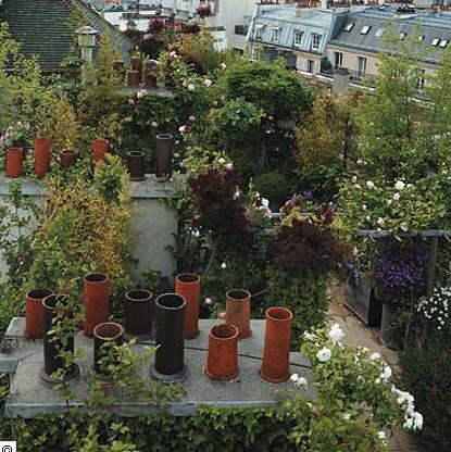 Art monie jardins perch s sur les toits - Jardin sur les toits ...