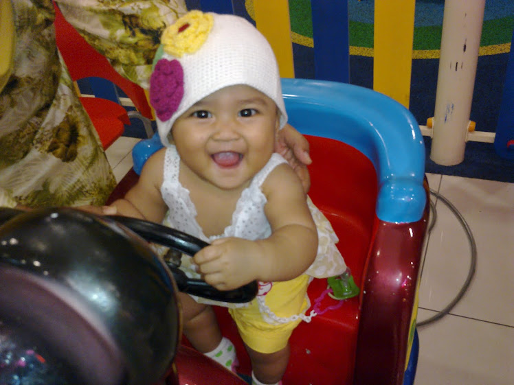 Nur Darwisya Damia 7 Months old on  06/03/10