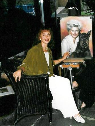Pintora Rusa afincada en Canarias