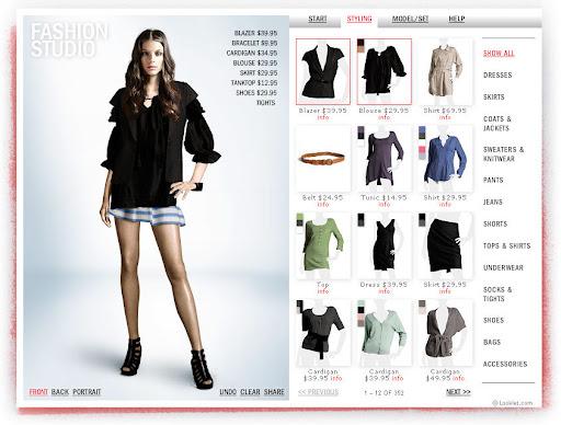 Estudio de moda y estilismo H&M