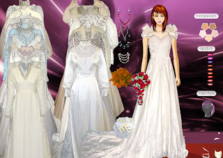 Dress Up and Makeover Classic Brides