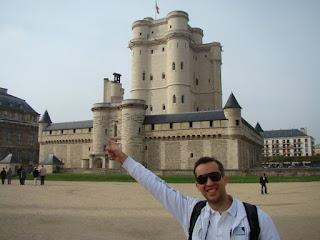 """""""Chateau de Vincennes"""" Chateau Vincennes Paris França"""