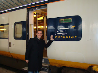 Eurostar Londres London Paris