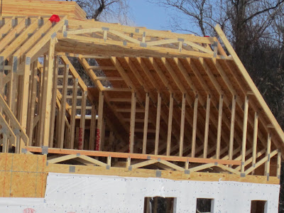 The road less traveled trusses for Pre made roof trusses