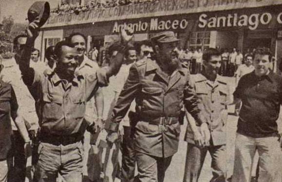 Movimiento rastafari - Página 2 Mengistu+y+Fidel+en+Santiago+de+Cuba