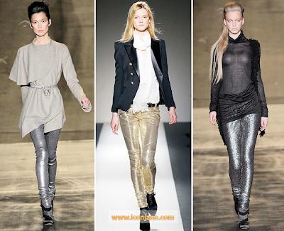 2011 kis trendi parlak metalik 2