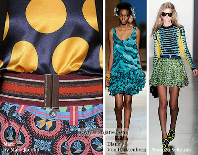 2010 yaz desenli kumas moda trend 5