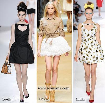 kabarik mini etek 2010 yaz modasi