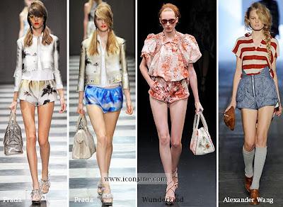 2010 yaz kisa sort modelleri moda trend 4