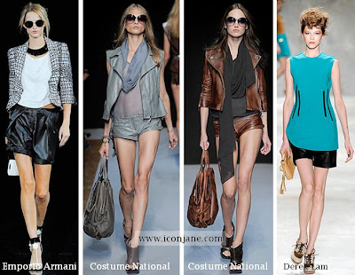 2010 yaz deri sort modelleri moda trend 1