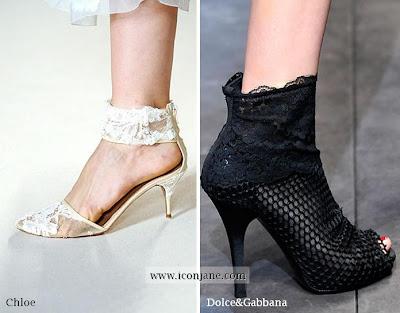 dantel detayli ayakkabi modelleri 2010 yaz 2