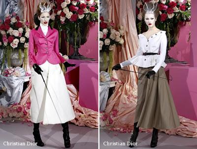christian dior ilkbahar 2010 couture 5