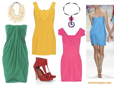 canli renkli abiye elbise 2