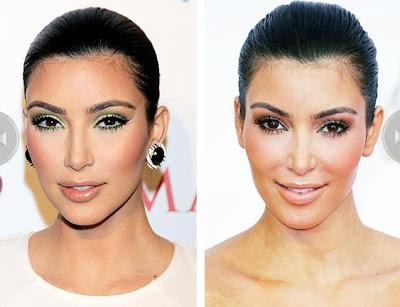 kim kardashian makyaj