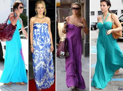 2009 en moda maksi elbiseler 1