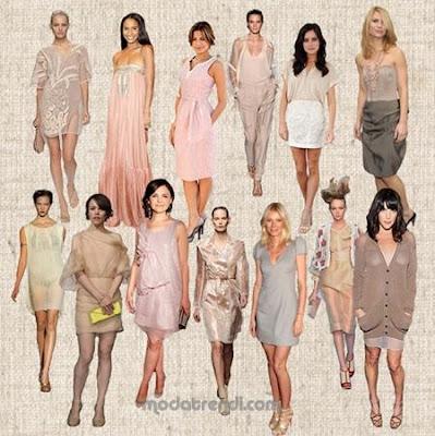 2009 en moda pudra rengi