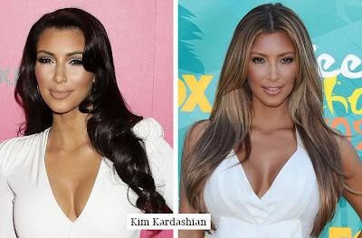 kim kardashian sac modelleri