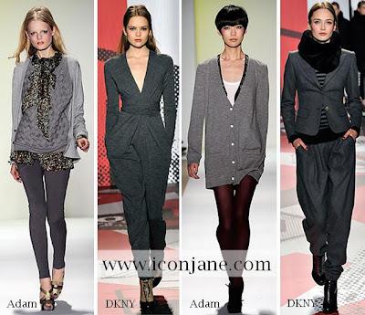 2009 2010 kis en moda renk gri 3