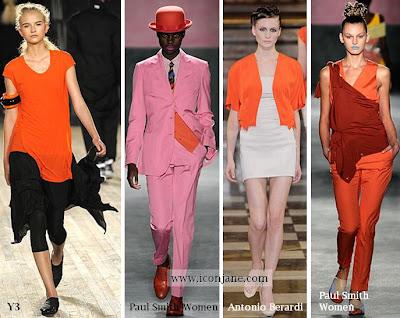 2010 yaz moda trend iki renkli kiyafetler 1