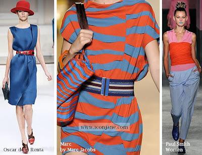 2010 yaz moda renkleri kirmizi mavi 3